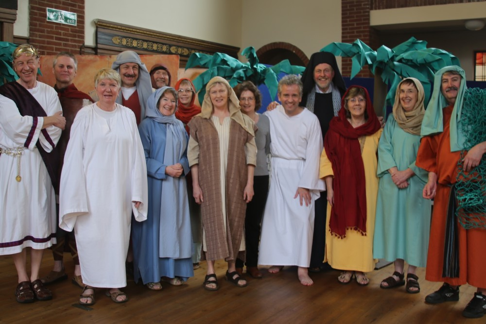 The cast of Easter Experience