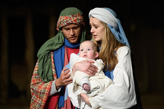 Wintershall nativity play
