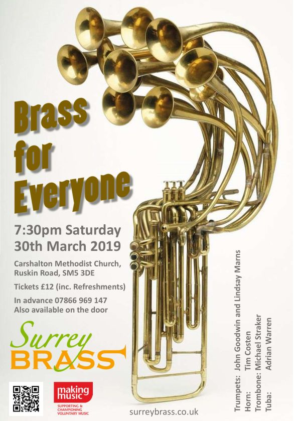 Brass for Everyone flyer