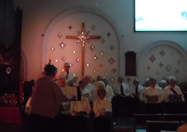 CA United Churches Choir concert