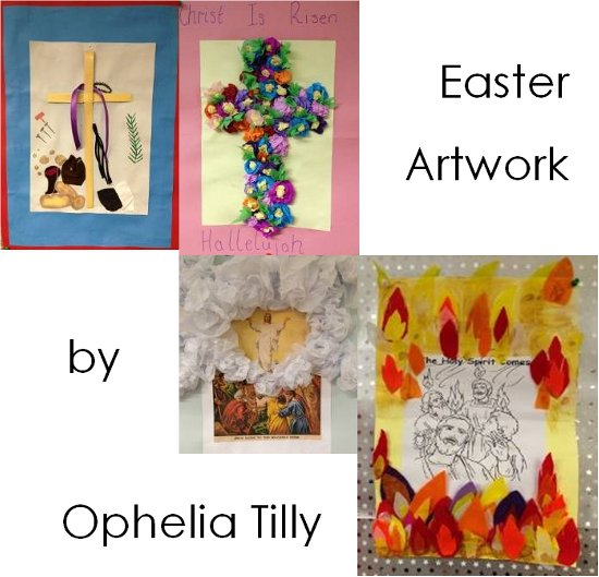 Easter artwork - Ophelia