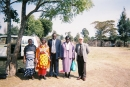 L.D.M. team and Kenya Church members.