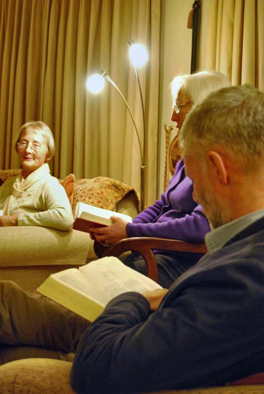 Bible Study at a Housegroup