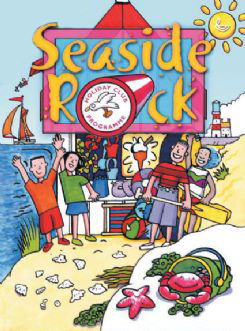 Seaside Rock Poster