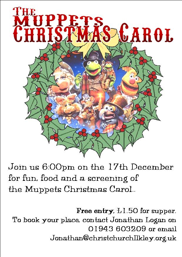Muppets Christmas Carol Flyer