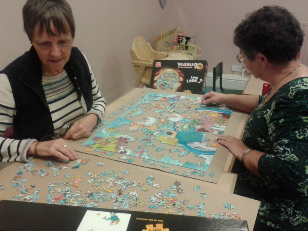 Making A Jigsaw