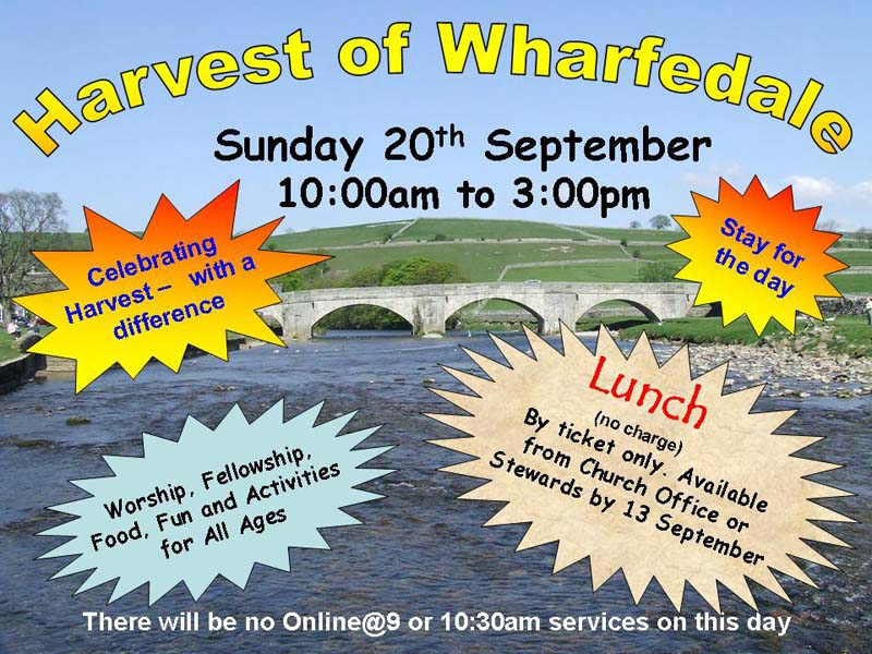 Harvest of Wharfedale Poster