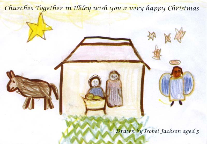 Christmas ccard designed by Isobelle Jackson