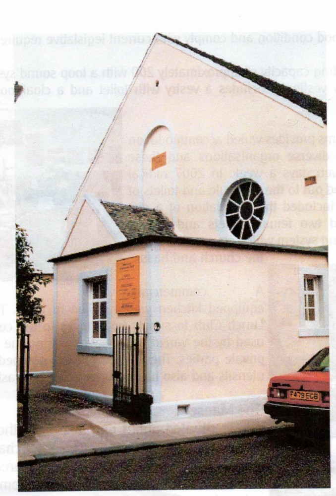 Small Church Youth Rooms: Musselburgh Congregational Church