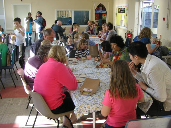 Messy Church tea