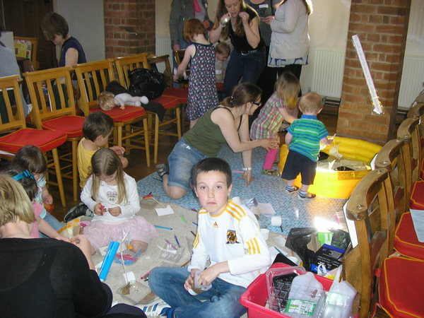 Messy Church children