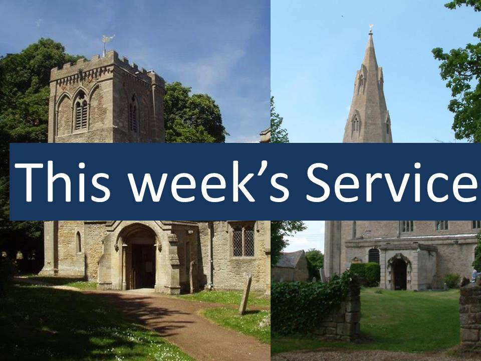 This weeks service