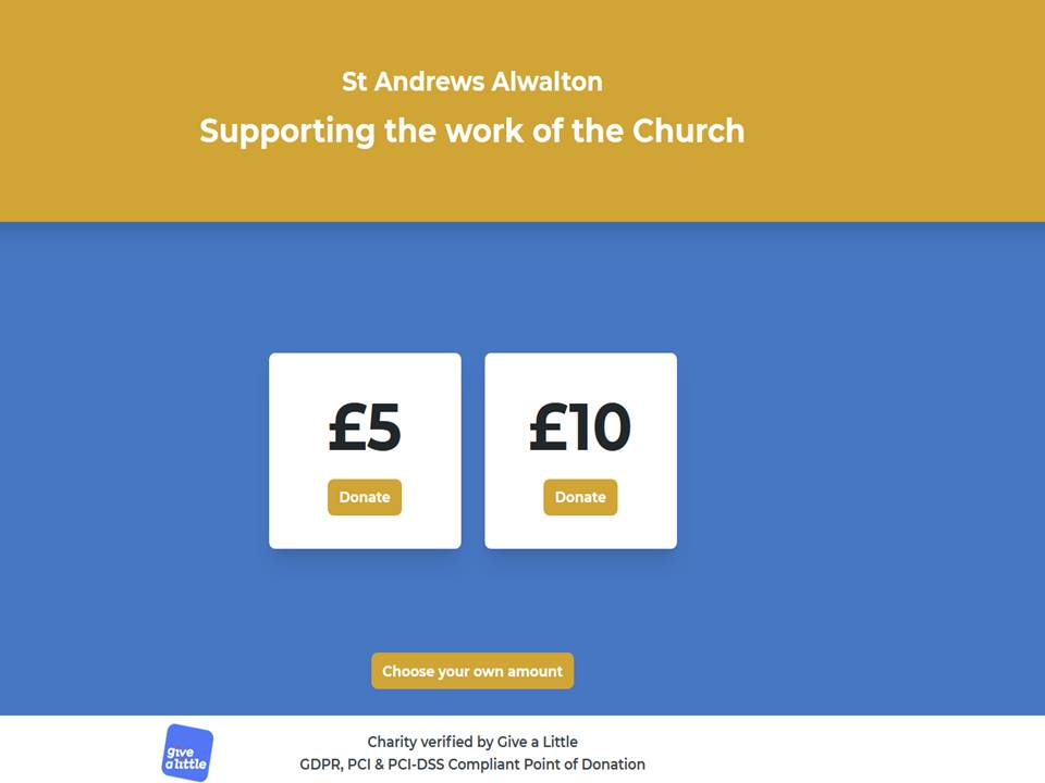 Give to St. Andrew's