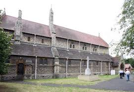 Image of the outside of All Saints Church