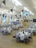 Hall used for wedding reception