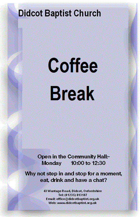 Coffee Break Flyer