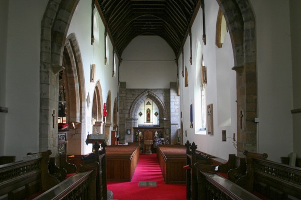 The main aisle (nave)