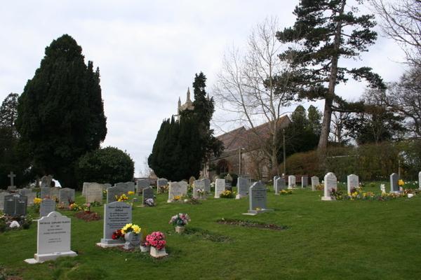 St Matthew's churchyard