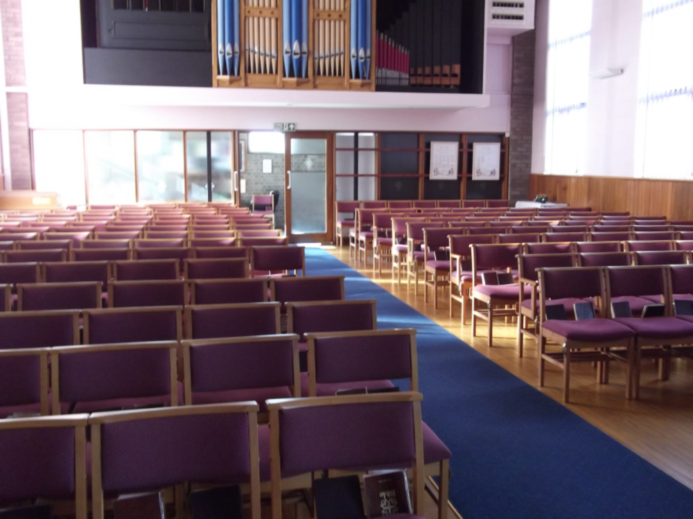 The Main Worship Area - Great for seminars and concerts