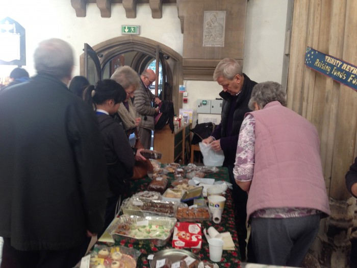 Christmas market at Cathedral