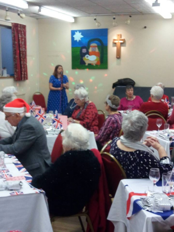 1940's Christmas Lunch 2018
