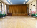 The Church Hall, looking towards the stage