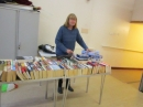 Pam Mill on the Books Stall