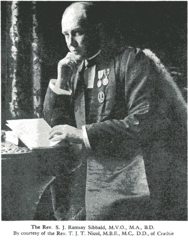Rev S. J. Ramsay Sibbald