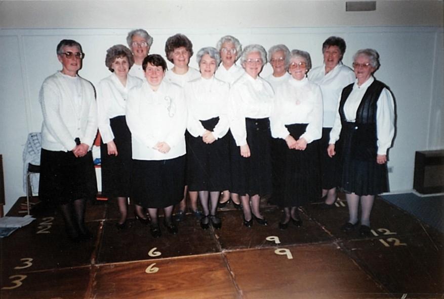 The choir again