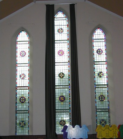 Church Hall windows
