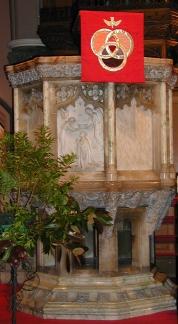 pulpit front