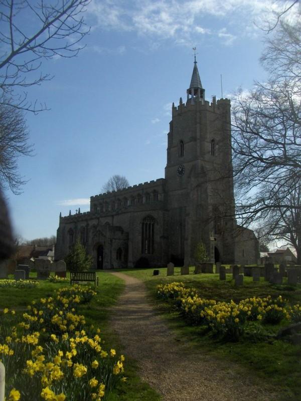 St Marys Burwell with St Etheldredas Reach | Photos Spring ...