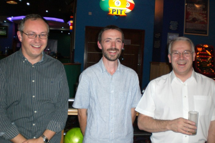 Some of the high scoring bowlers from Mens Fellowhsip