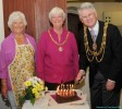 Mayor and Mayoress with Pam Macaulay