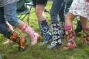 Our array of wellies