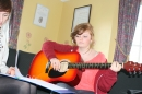 Hope (with Becca), ready for song composing!
