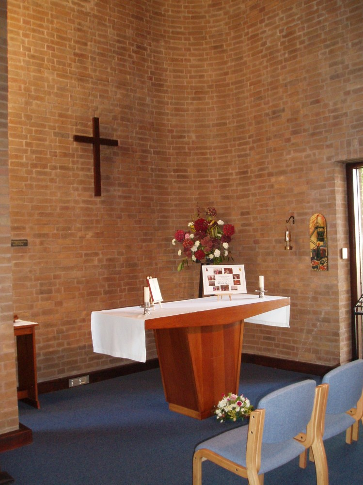 The Lady chapel, used for mid-week services