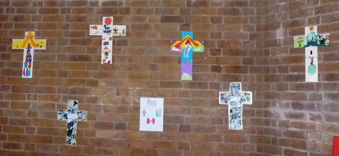 South American style crosses