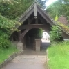 Lychgate from Church Path looking West