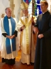 Tony, Bishop Mark and Fr. Keith
