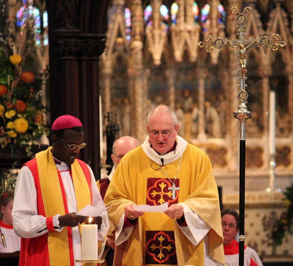 The Bishop of Kigali and the Bishop of Ely
