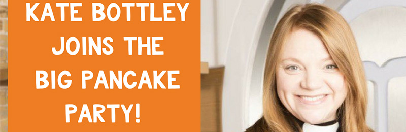 Open ​Kate Bottley is joining churches to tackle food poverty with Pancake Parties
