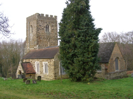 Bow Brickhill Church from the East