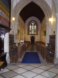 The Choir Stalls to the Rear North Door