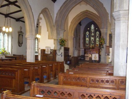 A View to the Altar & Lady Chapel