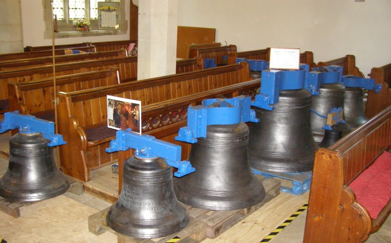 The bells are returned