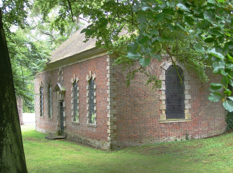 St Margaret Biddlesden building