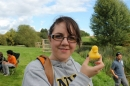 Amy at the Duck Race
