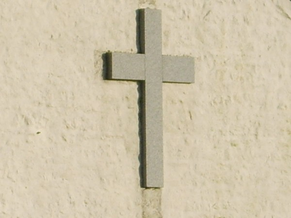Granite Cross on the West Wall