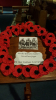 Poppy Wreath made by 7th West Wickham Scouts